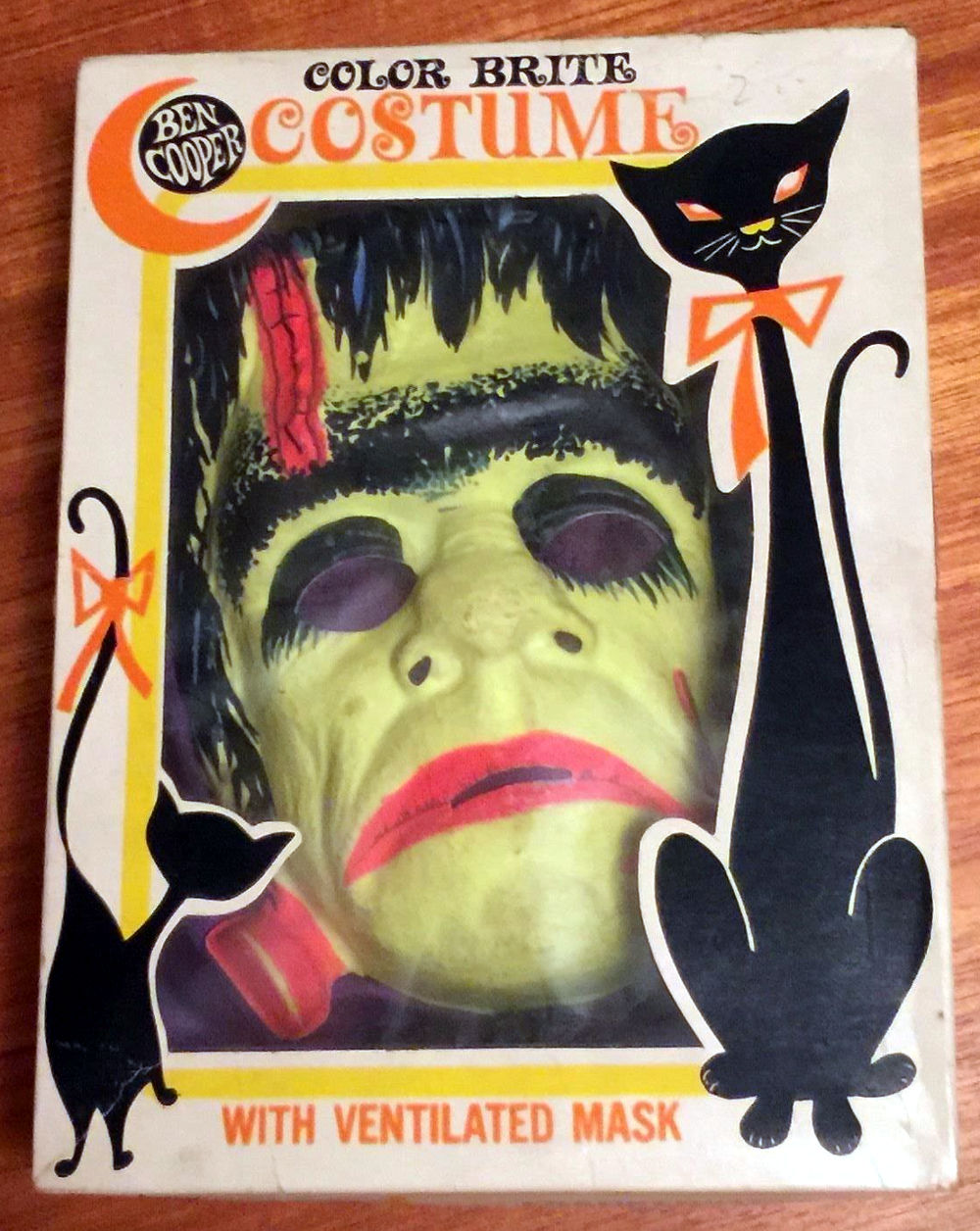 Vintage Halloween Costumes In A Box.From Zombos Closet Halloween Costume