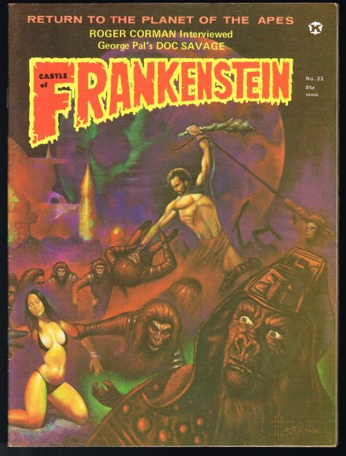 Castle of Frankenstein No. 23
