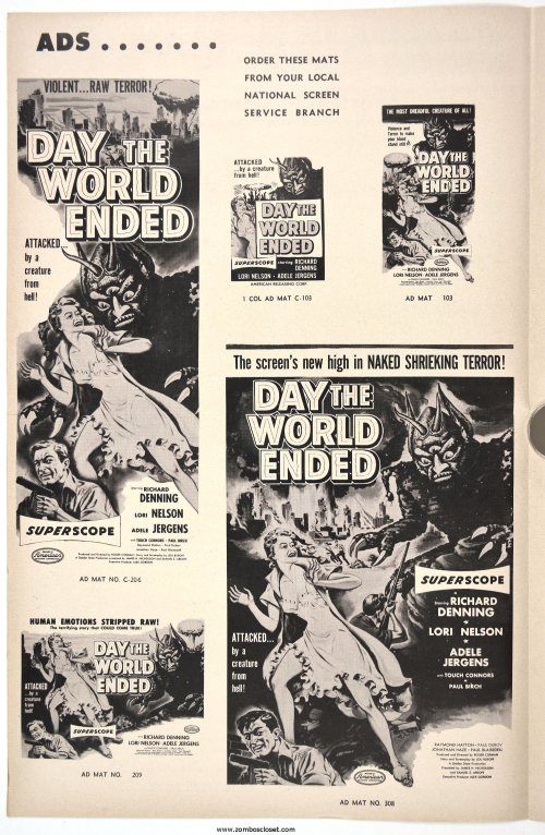 Day the World Ended Pressbook 001