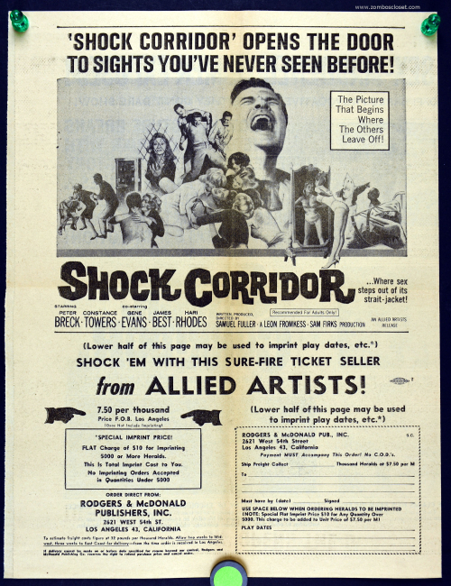 Shock corridor movie herald 03