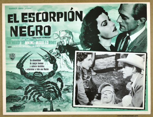 Black Scorpion Mexican lobby card