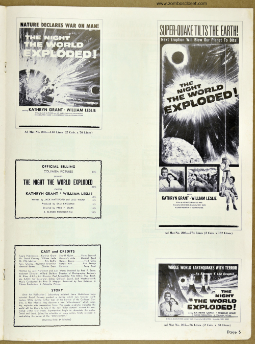 Night the World Exploded Pressbook 01