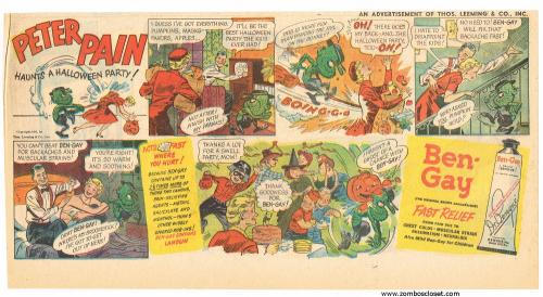 Bengay Halloween Print Ad_0