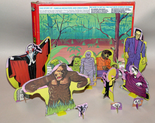 Famous monsters and creatures playset 4