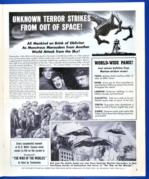 War of the Worlds Pressbook02