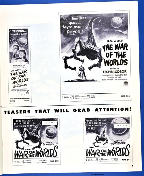 War of the Worlds Pressbook02