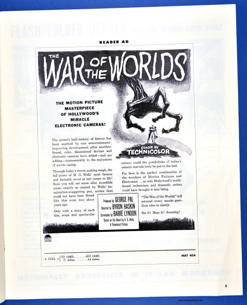 War of the Worlds Pressbook08