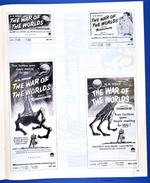 War of the Worlds Pressbook08