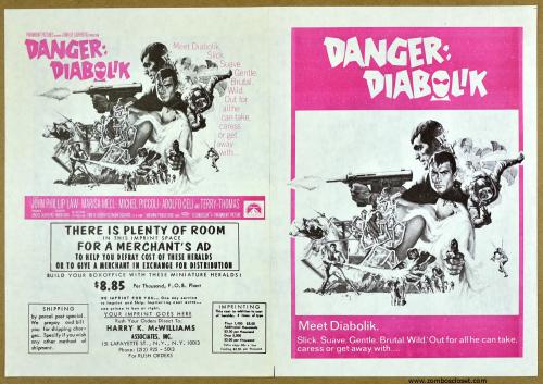 Danger Diabolik Herald 1