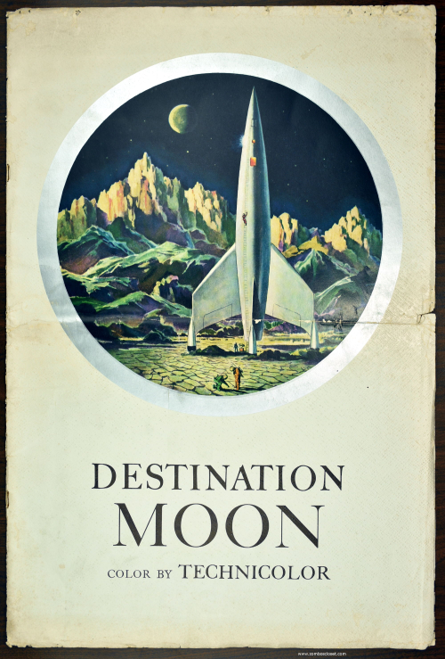Destination Moon Pressbook 01