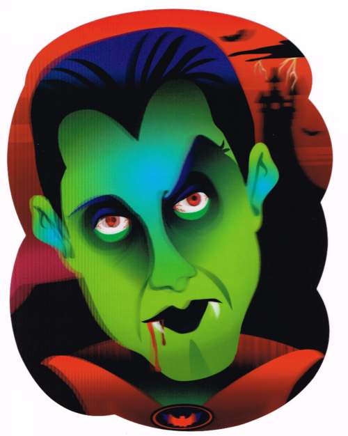 Dracula holographic decoration
