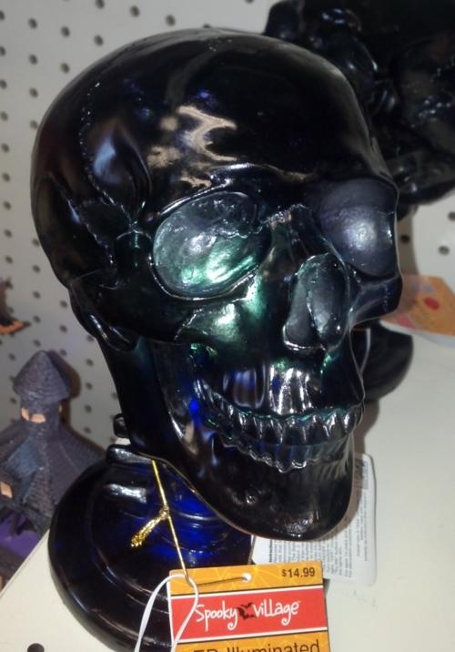 Lighted-skull