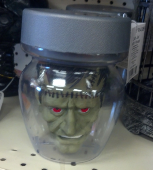 Head-in-jar