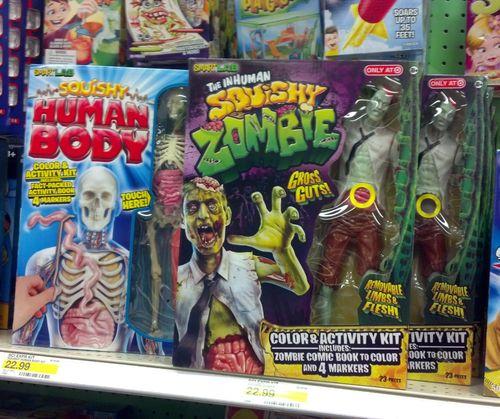 inhuman squishy zombie at target