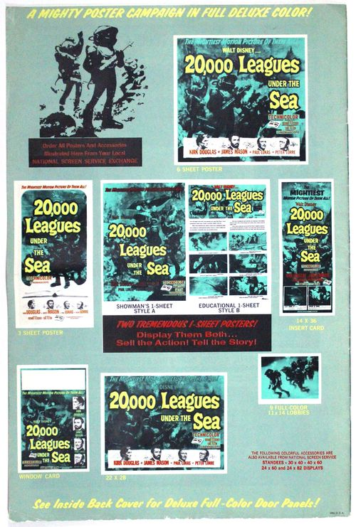 20000 leagues under the sea pressbook-bc