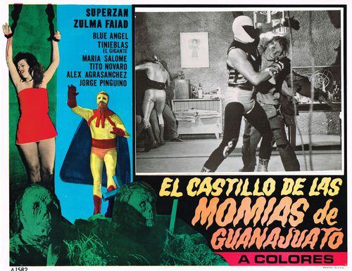 Mexican Lobby Card El Castillo De Las Momias De Guanajuato