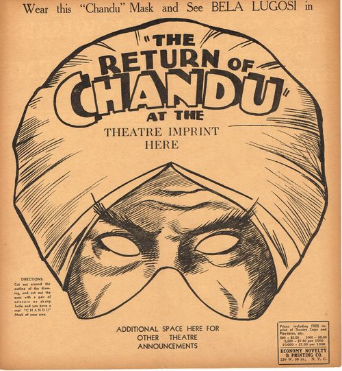 Return of chandu mask