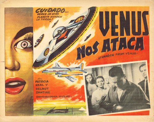 stranger from venus mexican lobby card