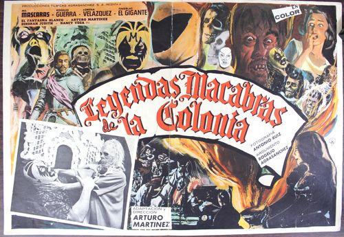 Leyedas macabras mexican lobby
