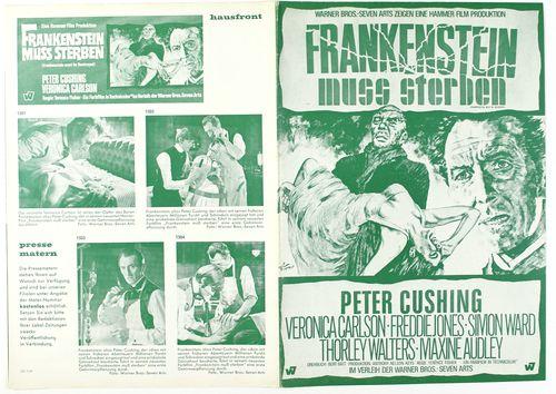 Hammer frankenstein pressbook 1