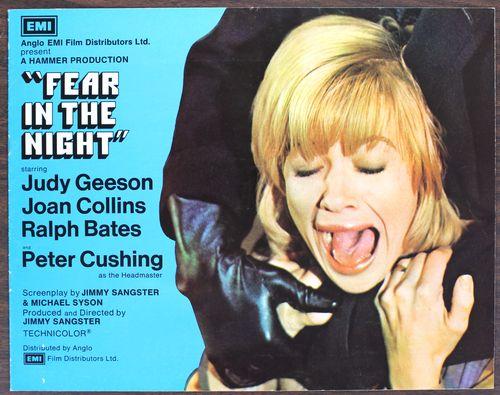 Fear in the night pressbook 1