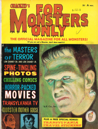 Cracked's For Monsters Only Magazine