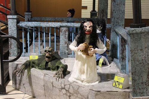 Spirit halloween 2015 zombie subway 3