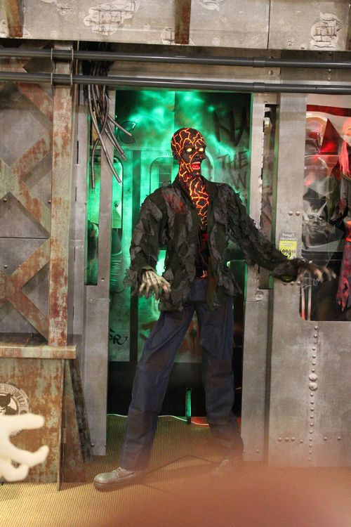 Spirit halloween 2015 lava zombie