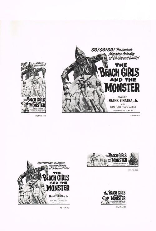 Pressbook beach girls monster 7