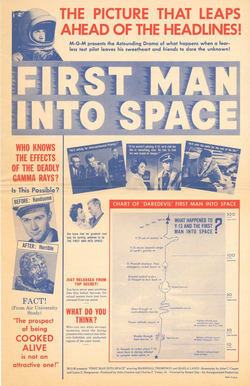 Herald for first man into space movie