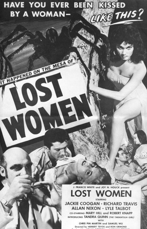 Mesa lost women pressbook