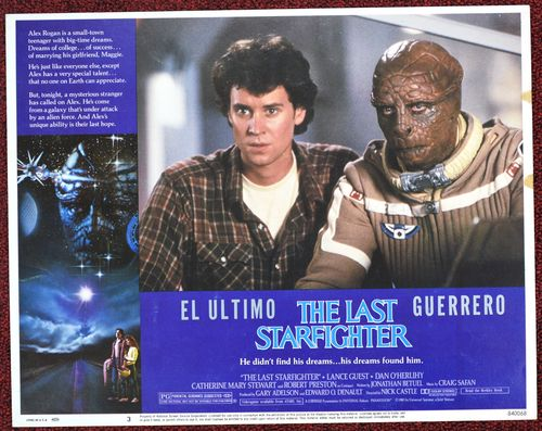 the last starfighter mexican lobby card