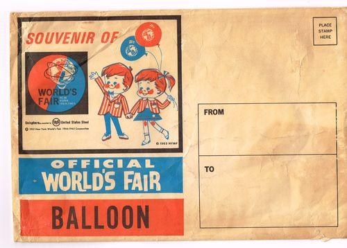 Worlds fair 1963 souvenir