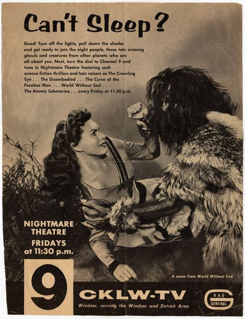 Nightmare Theatre TV ad