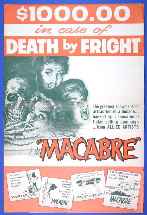 macabre movie pressbook 1