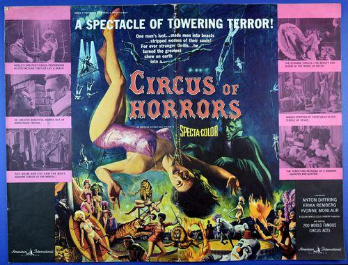 Circus of horrors pressbook 1