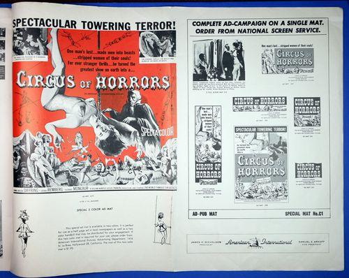 Circus of horrors pressbook 6