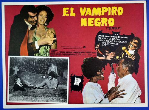 Blacula mexican lobby card 1