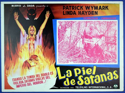 blood on satan's claw mexican lobby card