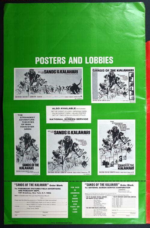 Sands of the Kalahari Pressbook 01