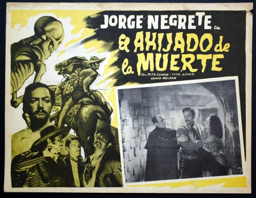 Ahijado de muerte Mexican lobby card