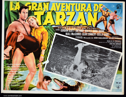 Tarzans Greatest Adventure lobby card