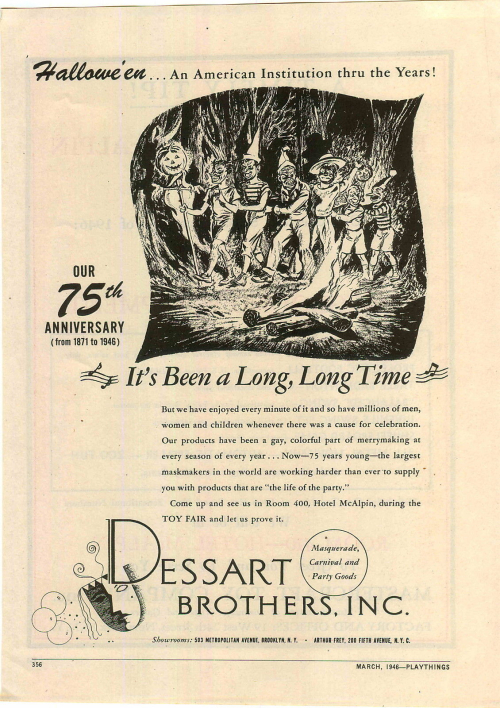Vintage Halloween Ad Zombos Closet
