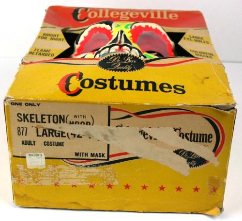 Colledgevill skeleton costume mbzay 2