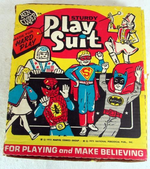 Sturdy superman playsuit 1