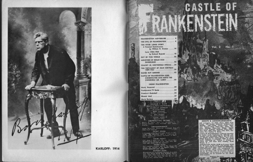 Castle of Frankenstein Issue 5
