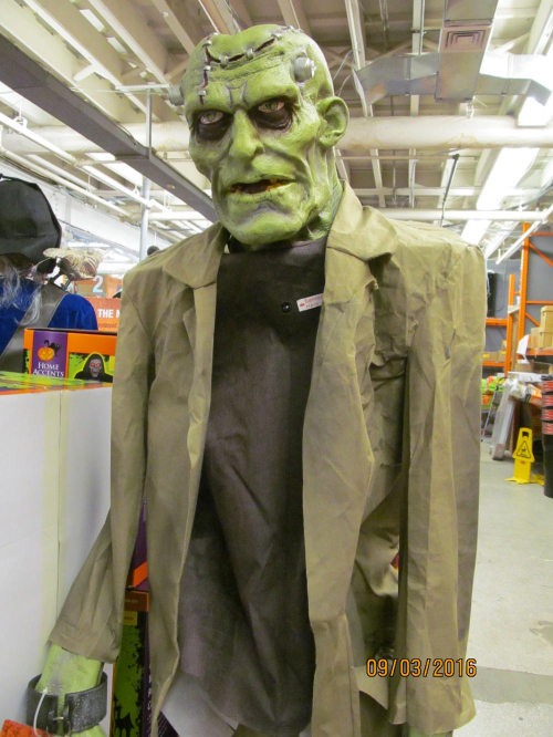 1 home depot frankenstein