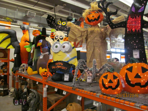 halloween 2016 sighted at home depot from zombos 39 closet