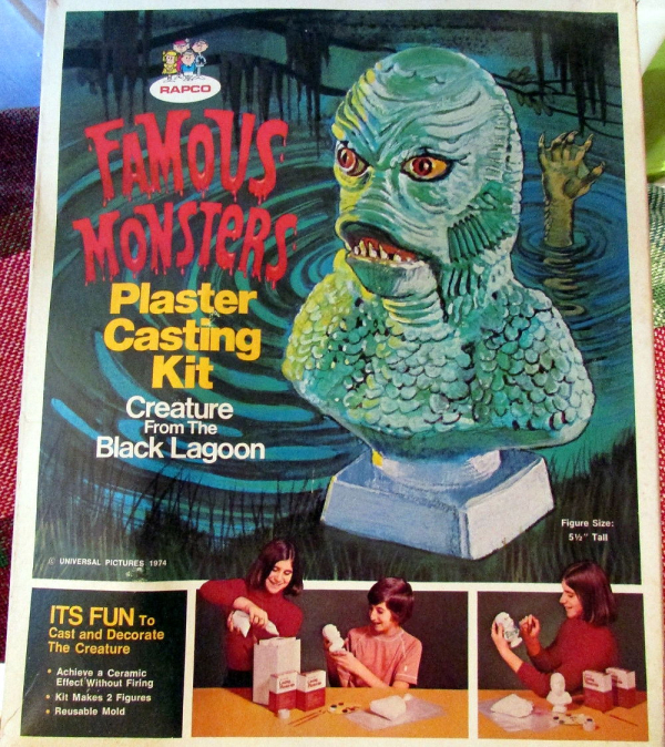 Rapco Famous Monsters Plaster Casting Kit: Creature From the
