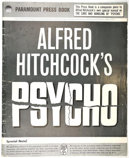 Psycho Pressbook  Kit Sheet